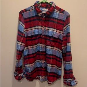 American Eagle Plaid Flannel